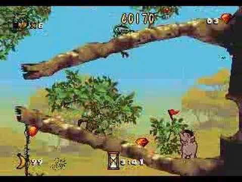 Jungle Book Sega Genesis