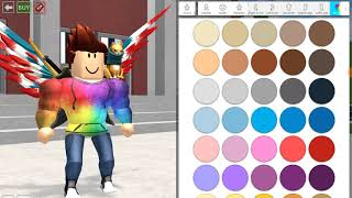 Roblox Robloxian highschool also make beautiful characters😎😎
