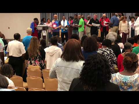 "Jeffrey LaValley  @Gospel Music Workshop of America (GMWA) Atlanta 2018  ""Oh Give Thanks"""