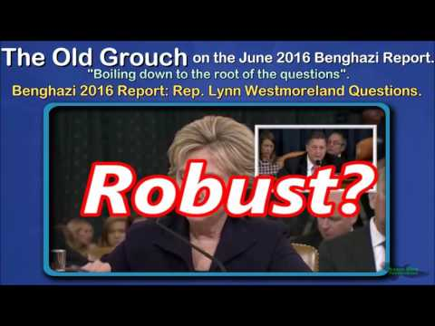 Benghazi 2016 Report: Rep. Lynn Westmoreland Questions. OGB 26 of 41.