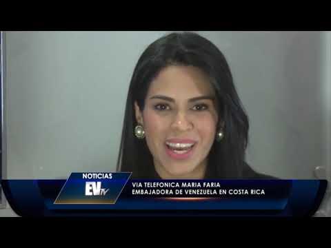 Costa Rica rechaza robo en la embajada de Venezuela #LaMañanaEVTV SEG 05