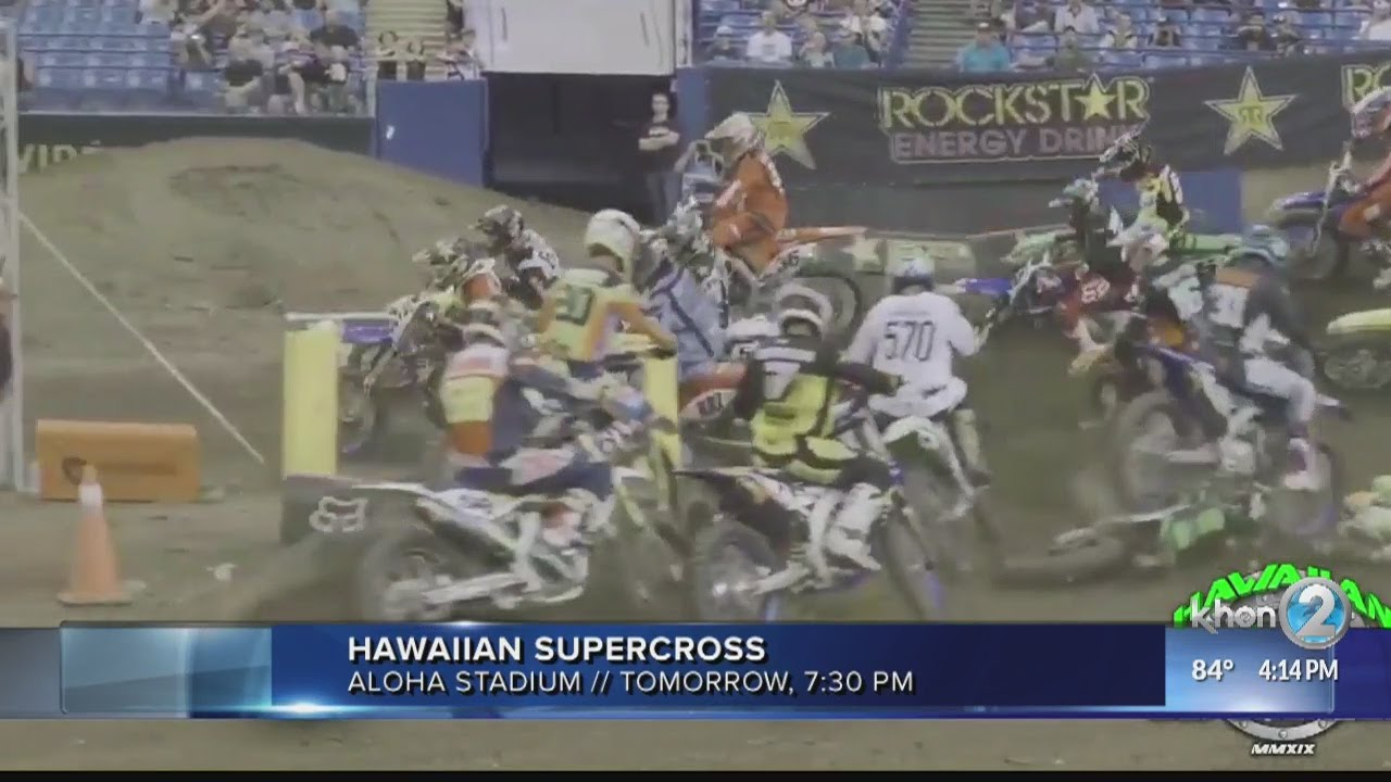 Hawaiian Supercross to take place at Aloha Stadium, Saturday, May 11