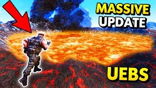CAN THE NEW VOLCANO KILL CHUCK NORRIS?! (UEBS / Ultimate Epic Battle Simulator Funny Gameplay)