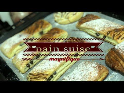 بان-سويس-او-الخبز-السويسي-بطريقة-مبسطة-مورق-ومحشو-بكريم-باتيسيير-وحبيبات-الشكولاطة-جربوه-مغاتندموش