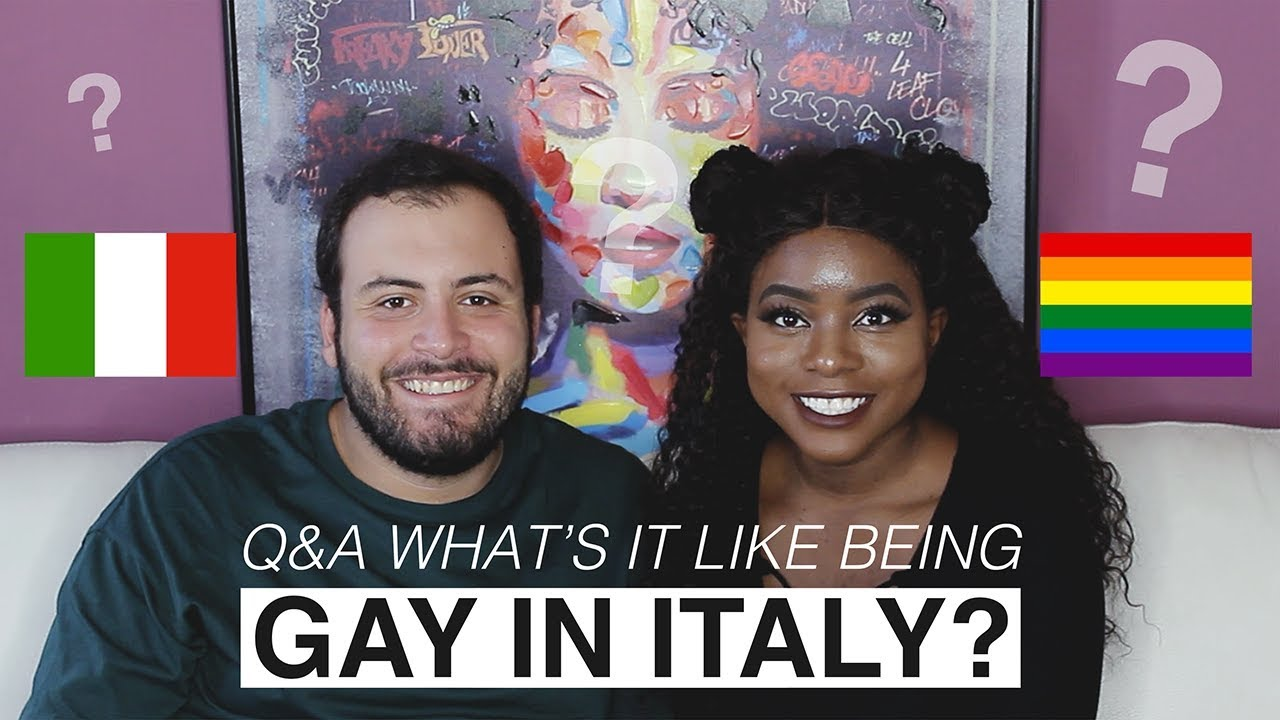 Q&A: WHAT'S IT LIKE BEING GAY IN ITALY? [ENGLISH SUBTITLES]