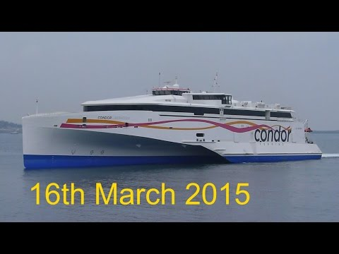 CONDOR LIBERATION Arrives in Guernsey For The First Time Ever