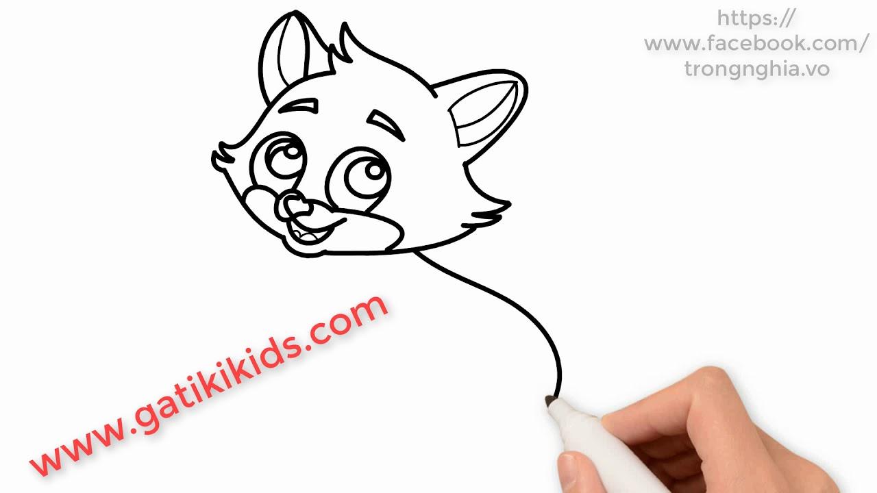 Vẽ Hình Con Mèo Tuyệt Đẹp Videoscribe | File Vector | How To Draw A Cat
