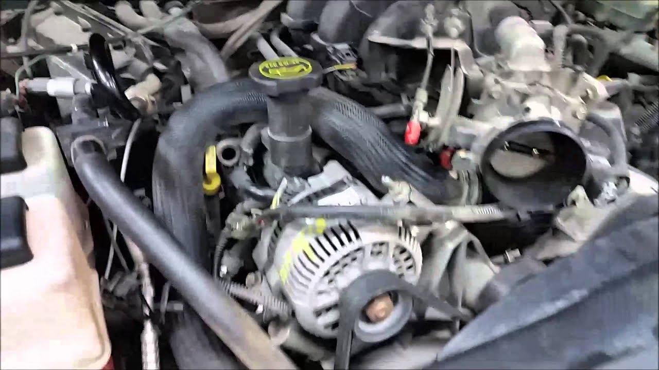 (part 2 )FORD 4.0L V6 SOHC COOLANT LEAK /REPAIR (HOW TO) on