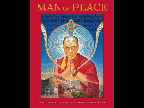 Man of Peace - The illustrated   Robert Thurman & Deepak Chopra, MD