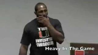 Ray Lewis Motivational Speech to Hurricanes Players