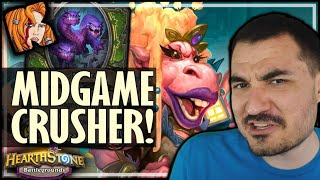 NEW WAGTOGGLE = MIDGAME CRUSHER! - Hearthstone Battlegrounds