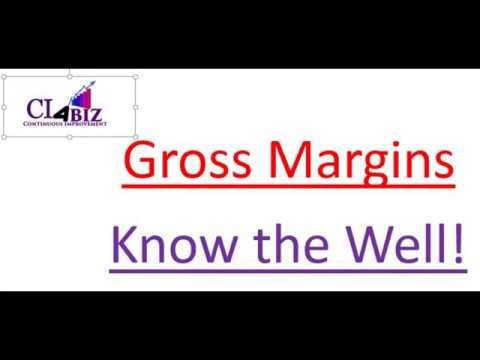 Gross Margins - Know them well - The CI Minute