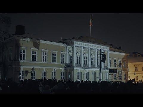 Åbo Akademi 100 år – Lights on ÅAU!