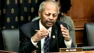 Congressman Payne Speaks About Congo