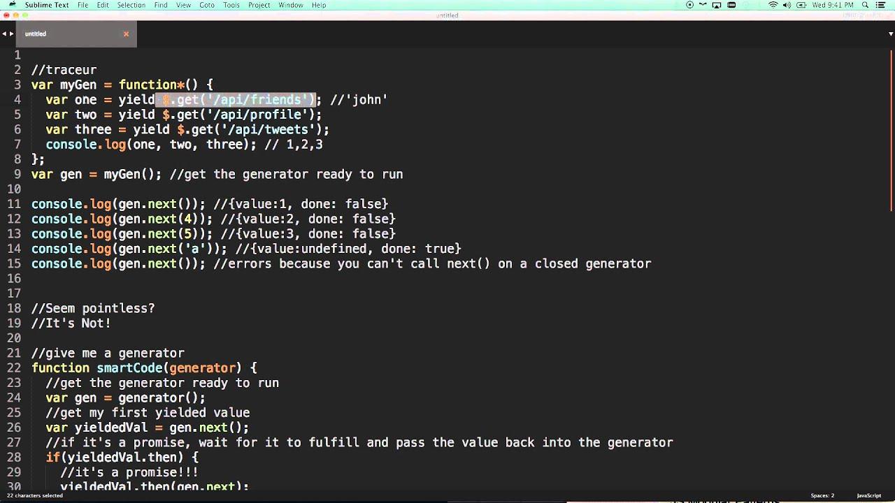 Javascript Generators They Change Everything Es6 Generators