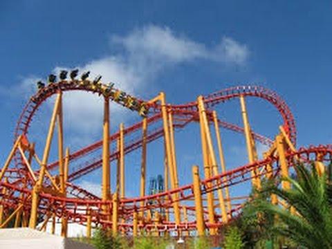 Top 30 Roller Coasters in California Part #1