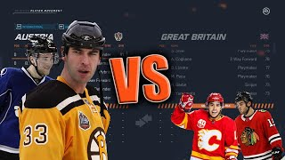 Nhl 20. in this video we are playing ea sports 20 playoff mode with the shortest players league facing off vs tallest l...