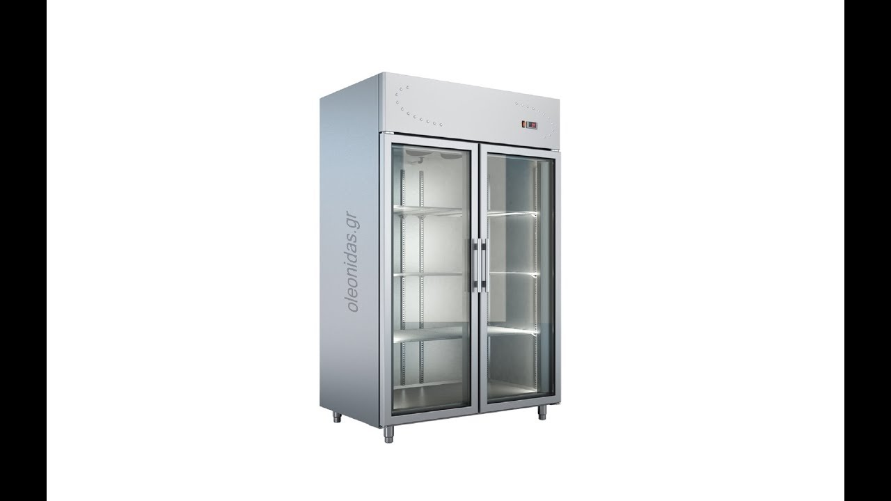 2 Freezer With 2 Glass