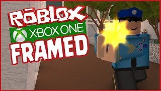 ROBLOX XBOX - FRAMED! Undercover, Classic Framed, Police Gameplay Multiplayer (Xbox One Part 1)