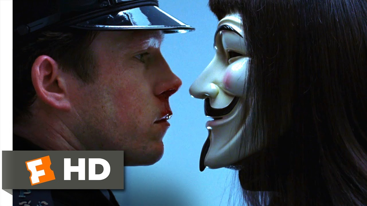 V for Vendetta (2005) - Which One is V? Scene (3/8 ...
