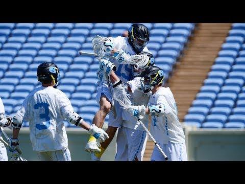 UNC Men's Lacrosse: Carolina Upsets No. 14 Notre Dame in Season Finale