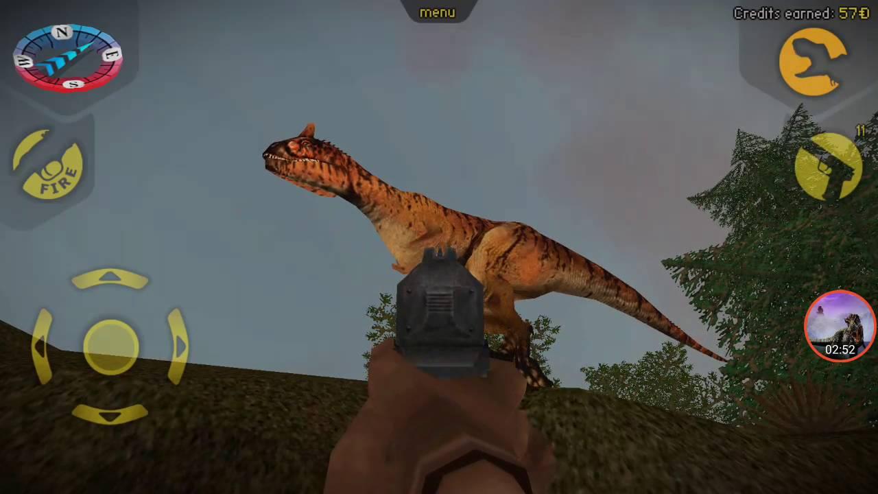 Carnivores Dinosaur Hunter   Carnotaurus Hunting - YouTube