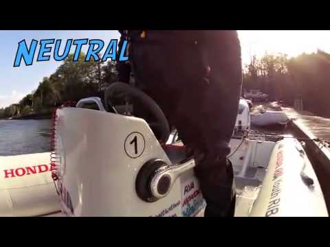 Outboard engine starting procedure