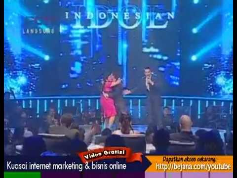 Regina ft Judika - Making Love Out of Nothing At All - Indonesian Idol 2012 - 16 Juni 2012