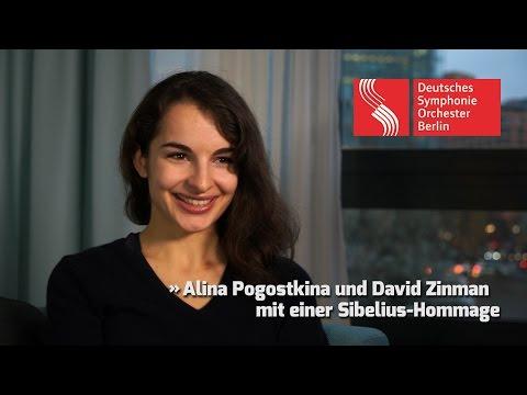 Alina Pogostkina und David Zinman mit einer Sibelius-Hommage