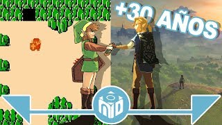 La EVOLUCIÓN de The Legend of Zelda - ¡SORTEO! | N Deluxe