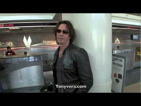 Rick Springfield and his band at LAX