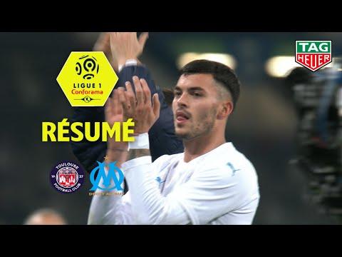 Toulouse FC - Olympique de Marseille ( 0-2 ) - Résumé - (TFC - OM) / 2019-20
