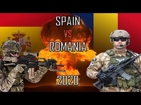 🔥 Spain vs Romania 2020 (Military Power Comparison)