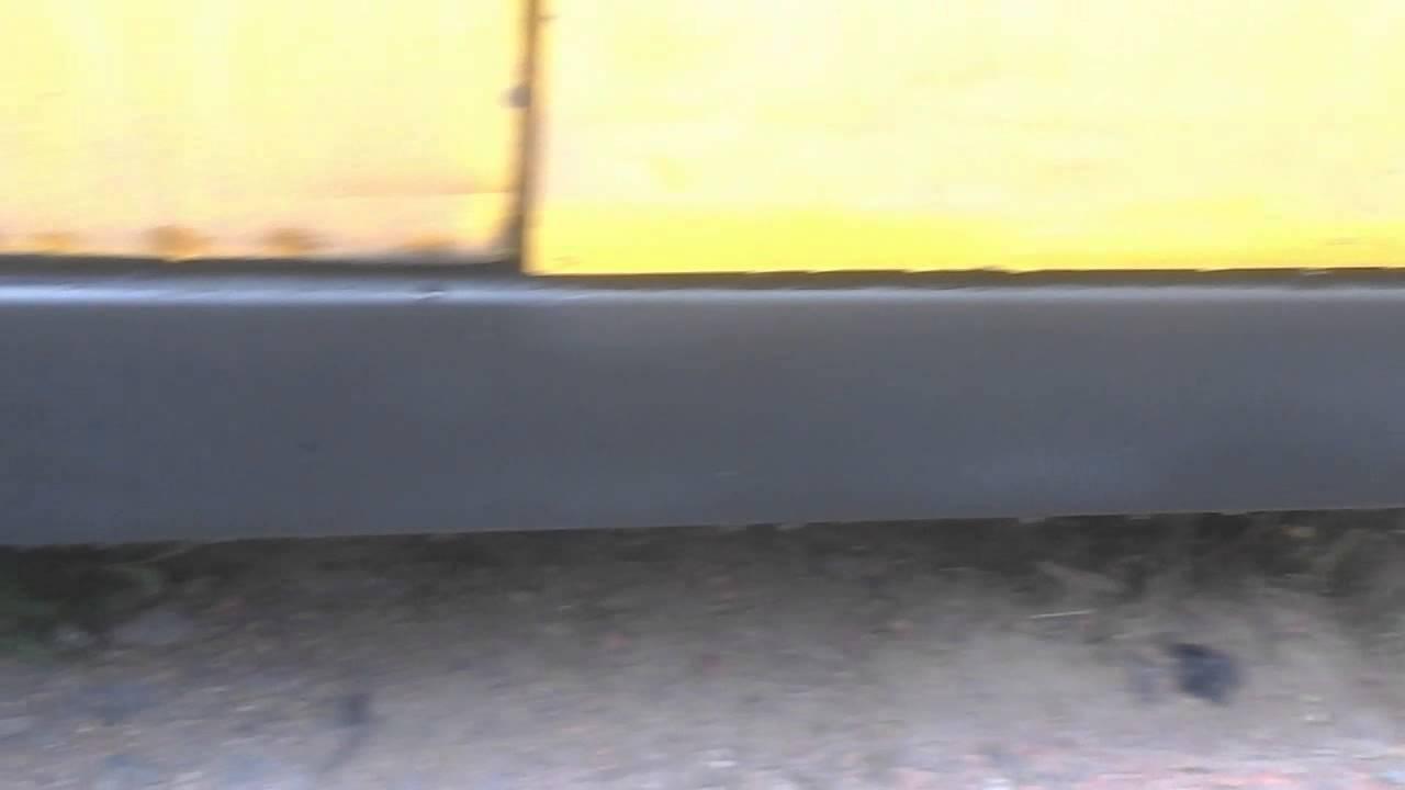 замена задней арки крыла на ваз 2109 ,(большой) - YouTube