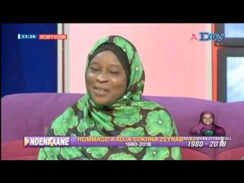 NDEKAANE Hommage a Adja sokna zeynab par c'est sope du 2018-10-10