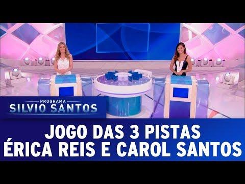 Jogo das 3 Pistas - Completo | Programa Silvio Santos (17/12/17)
