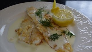 All About Sauces Series  how to make classic French style fish with Lemon Beurré Blanc sauce