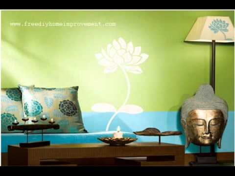 interior wall paint ideas - Interior Wall Painting Designs