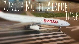 June Airport Update (Zurich 1/400 model airport).