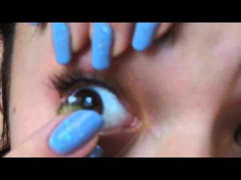 Come Applicare e rimuovere lenti a contatto Adore, anche con unghie lunghe