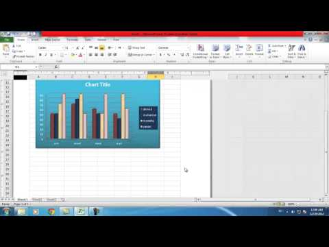 Excel 2010 insert & pagelayout Ribbons