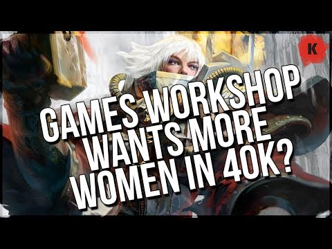 Games Workshop Wants More Women In Warhammer 40,000... Are Miniatures The Answer?