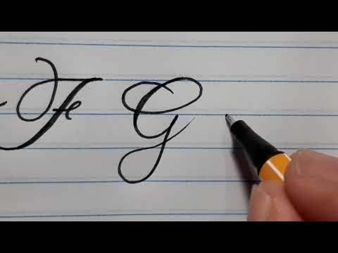 Uma Letra Pra Você Aprender De Vez. Caligrafia DS