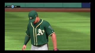 MLB The Show 18, Oakland Athletics -16th game(vs Seattle Mariners, full game)