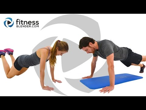 HIIT Cardio, Abs and Yoga Workout - Fun Mashup with Beginner, Intermediate & Advanced Options