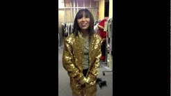 "Abby Tries On Drew's ""Gold Onesie"""