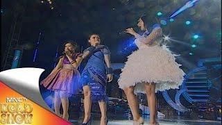 "Dahlia - Eva Puka - Tenty Kamal "" Goyang Dumang "" - MNCTV Road Show Lampung (3/10)"