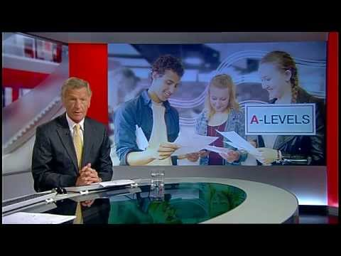 13/08/15 - A small feature about Results Day 2015 at the Suffolk One Sixth Form College, Ipswich on BBC Look East