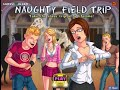 NAUGHTY FIELD TRIP Walkthrough Gameplay (flash Game)