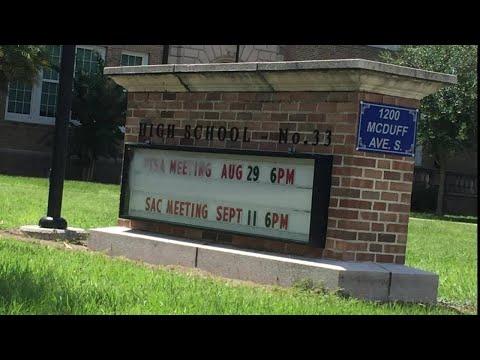 Robert E. Lee School vandalized